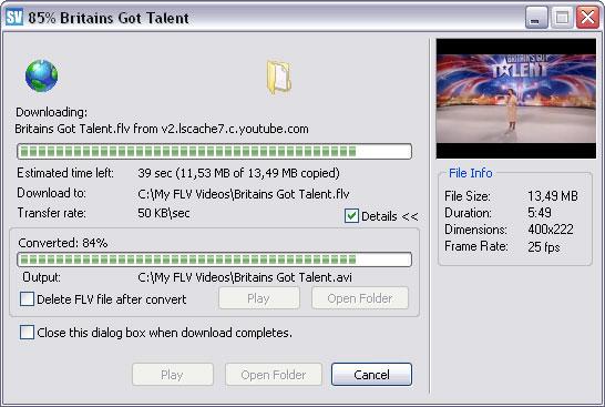 Save Video plugin for Internet Explorer